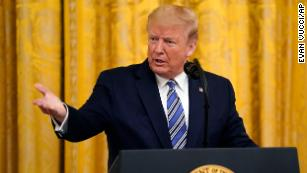 Fact check: Trump falsely suggests he was right when he predicted 'close to zero' virus cases in February
